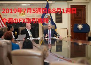 【2019年7月5週目&8月1週目】海外FX取引戦略
