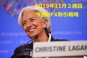 【2019年11月2週目】今週のFX取引戦略