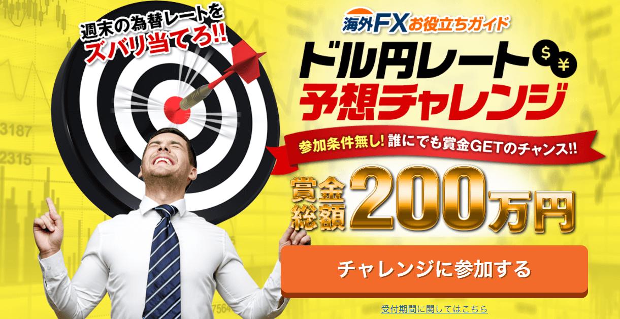 ドル円レート予想チャレンジ