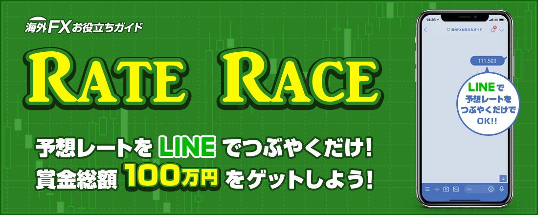 ドル円レートレース